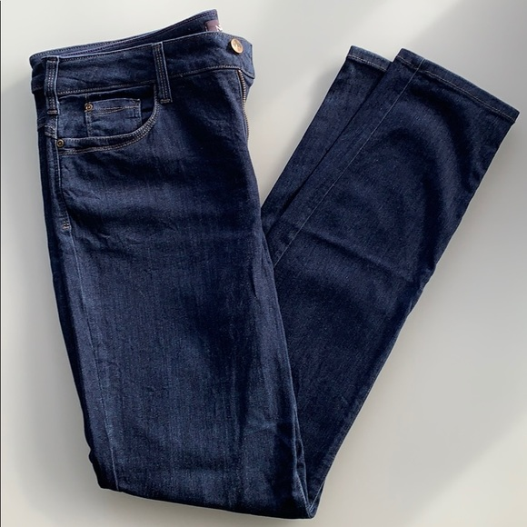 NYDJ Denim - NYDJ SZ 12 AMI skinny leggings dark blue